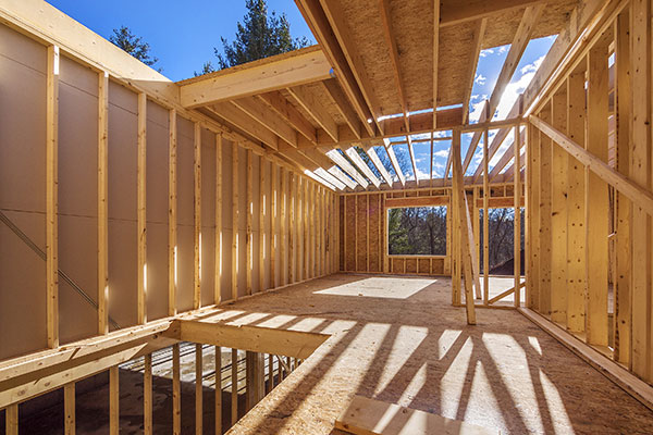 Timber or wood as a construction material